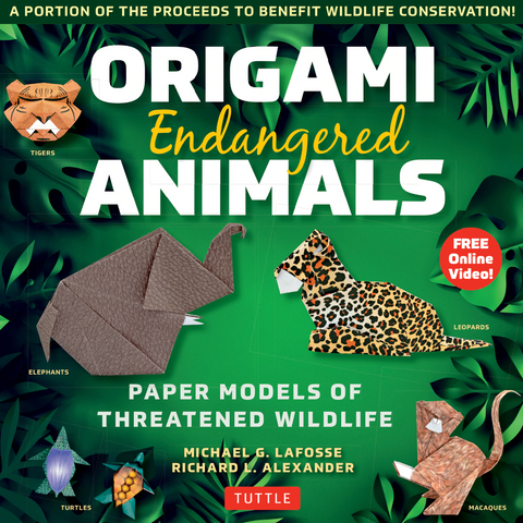 Endangered Animals Origami Kit