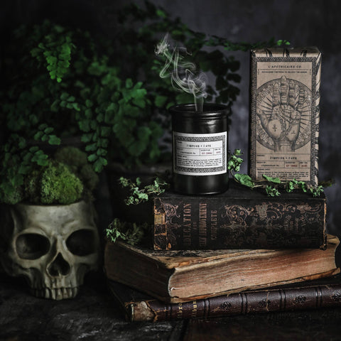 NOIR Apothecary Candle | Fortune + Fate