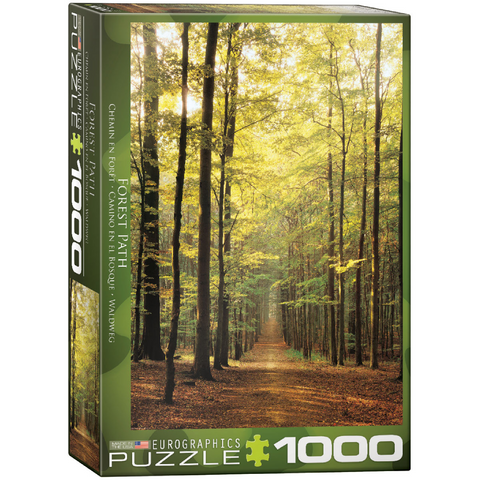 Forest Path - 1000 Piece Puzzle