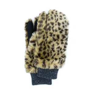 Grizzly Mitten Gloves - Leopard