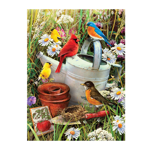 Garden Birds Paint by Numbers - Small