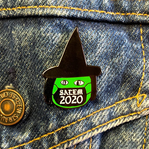 Salem 2020 Witch Enamel Pin by Georgia Made This