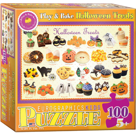 Halloween Treats - 100 Piece Puzzle for Kids