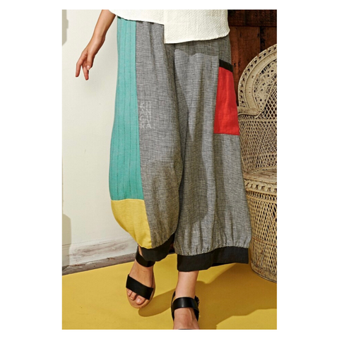 Lightweight Linen and Rayon Pants by Khangura