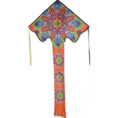 Large Mandala Easy Flyer Kite