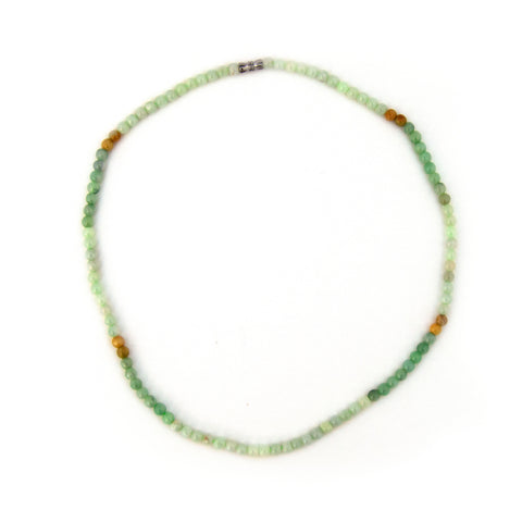 Beaded Jade Necklace