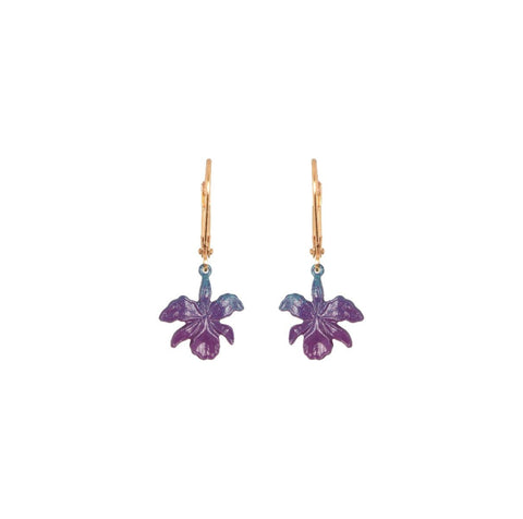 Ombre Orchid Earrings