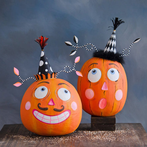 Party Pumpkins by Glitterville