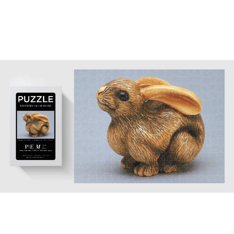 Rabbit Netsuke PEM Puzzle - 300 Pieces