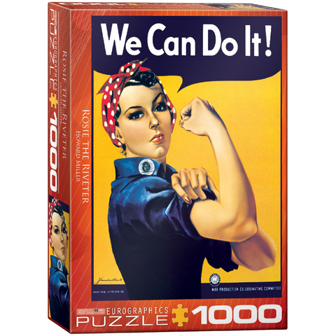Rosie the Riveter - 1000 Piece Puzzle