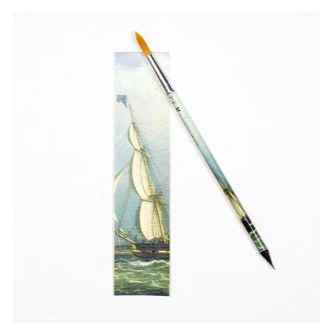 PEM Paintbrush Pencil - The Bark Marblehead Coming into Port