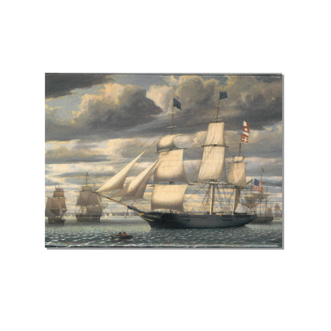 Magnet Ship 'Southern Cross' in Boston Harbor