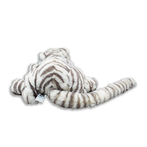 Sacha Snow Tiger Stuffed Animal