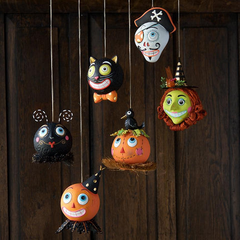 Spooky Kook Ornaments by Glitterville