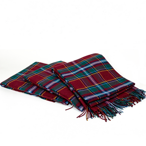 James Drummond of Perth Modern Tartan Throw