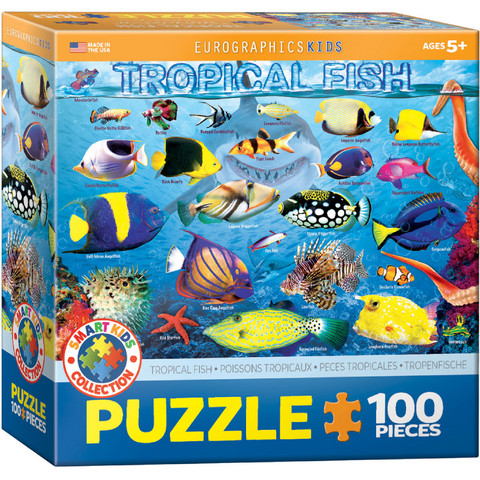 Tropical Fish - 100 Piece Puzzle for Kids