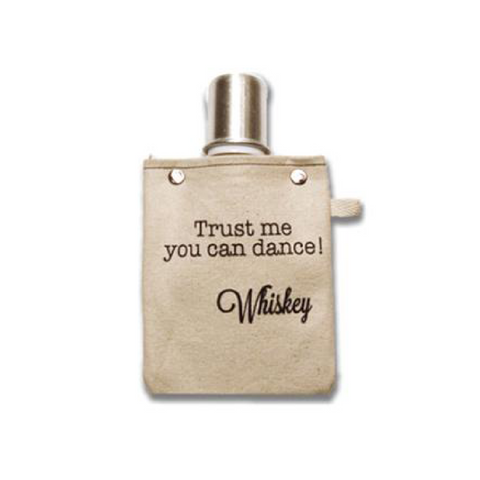 Trust Me Canvas Flask 4oz