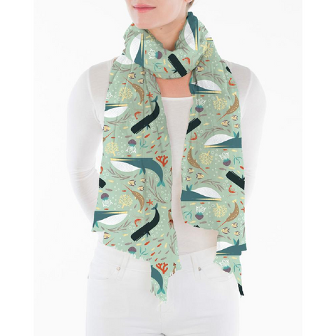 Whale Reef Scarf