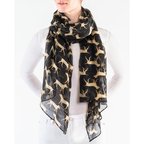 Yellow Lab Scarf