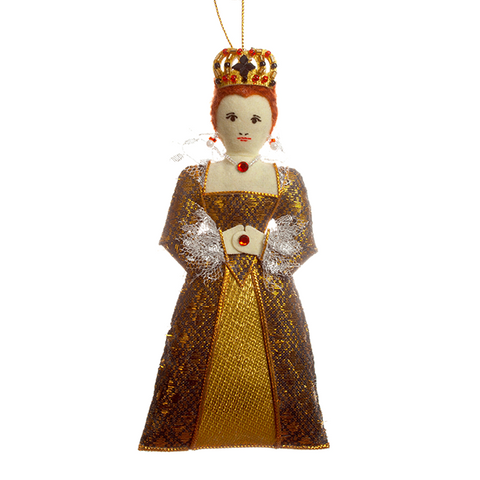 Young Elizabeth Ornament