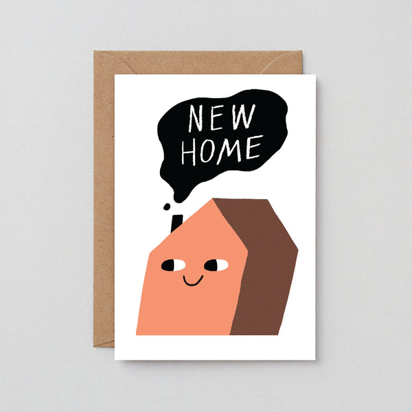 'New Home – House' Greetings Card