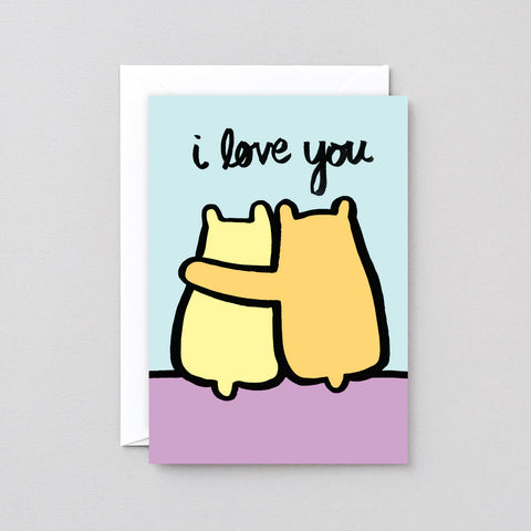 'Love You Bears' Greetings Card