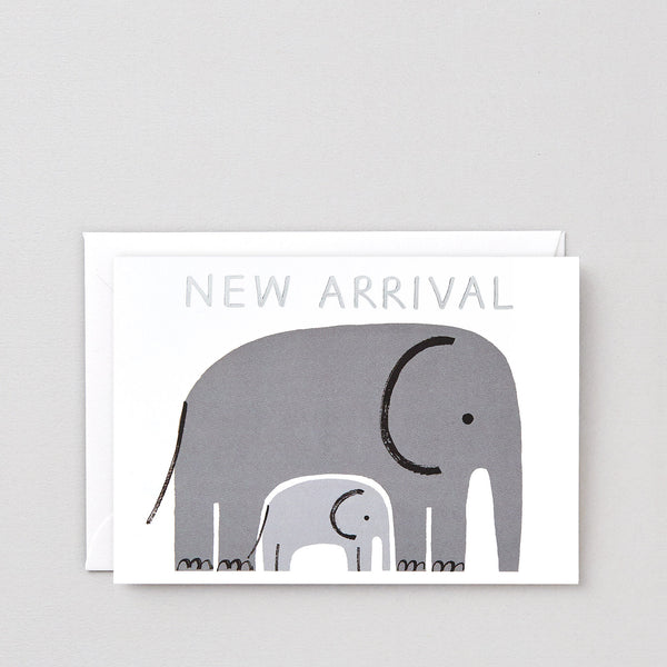 'New Arrival' Foiled Greetings Card