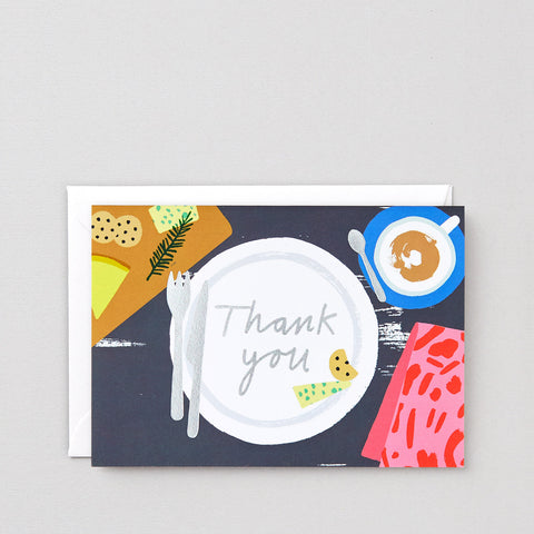 'Thank You' Foiled Greetings Card