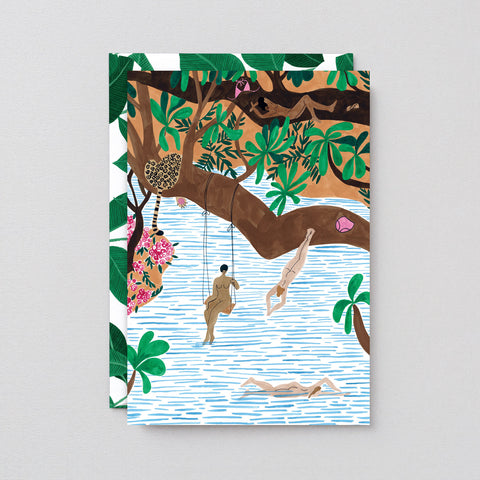 'Jungle Beach' Art Card