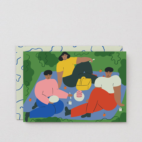 'Picnic' Art Card