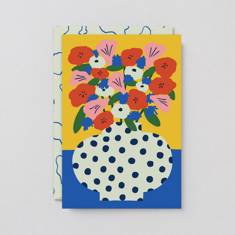 'Flowers' Art Card