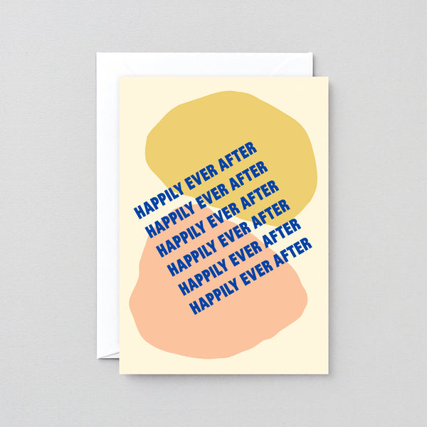 'Happily Ever After' Foiled Greetings Card