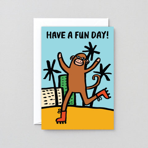 'Have A Fun Day' Greetings Card