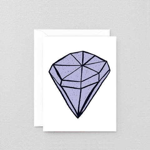 'Diamond' Greetings Card