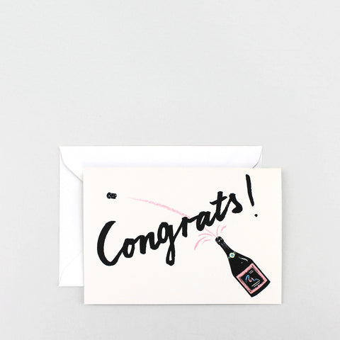 'Congrats!' Greetings Card
