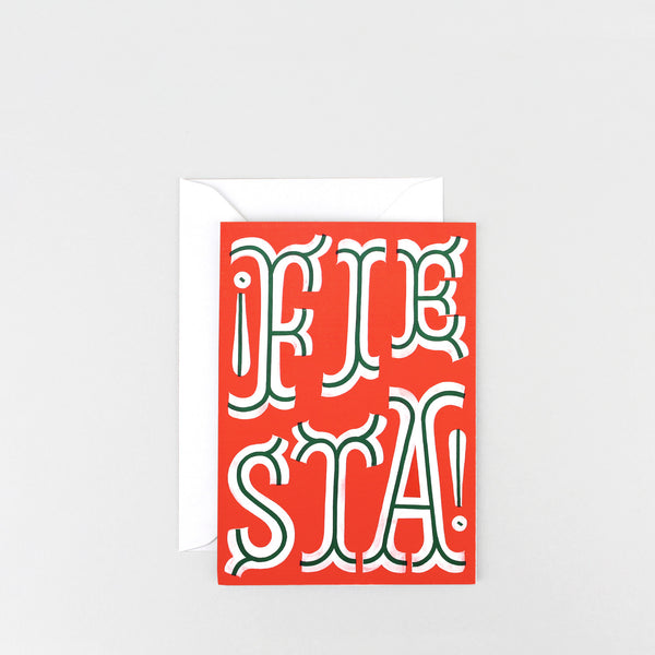 'Fiesta' Greetings Card