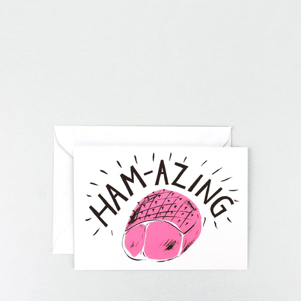 'Ham-Azing' Greetings Card