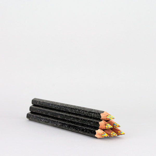 'Black Glitter' Magic Pencil
