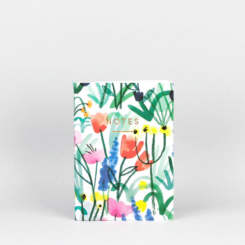 'Country Floral' Mini Notebook
