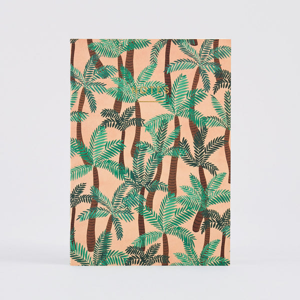 'Palm Trees' Notebook