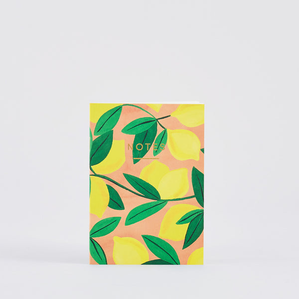 Mini 'Lemons' Mini Notebook