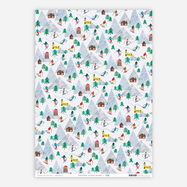 6 x Festive Wrapping Papers
