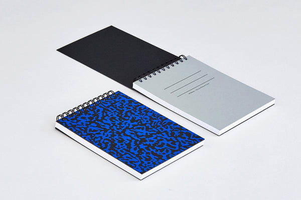 'Ripple Black' Small Notebook