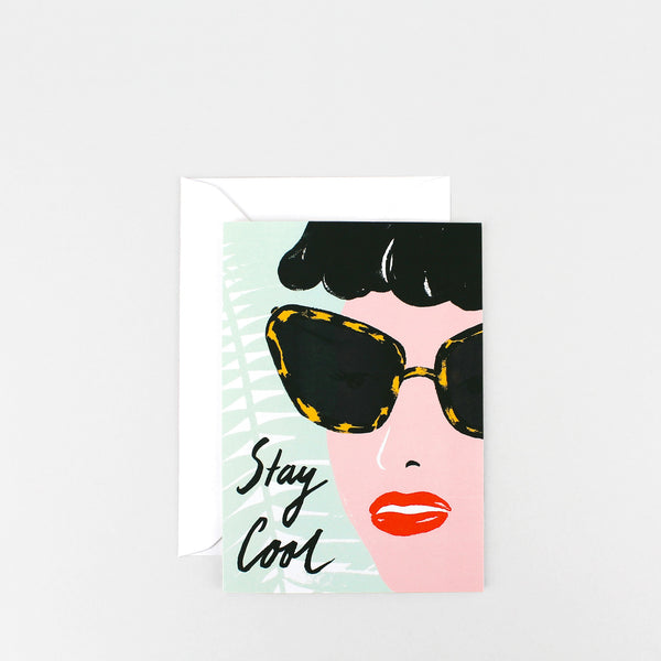 'Stay Cool' Greetings Card