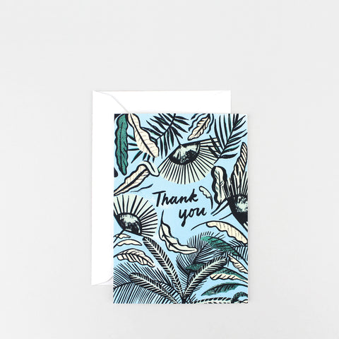 'Thank You – Foliage!' Greetings Card