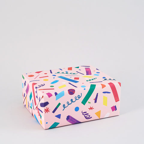 Confetti Wrapping Paper x 3 Sheets