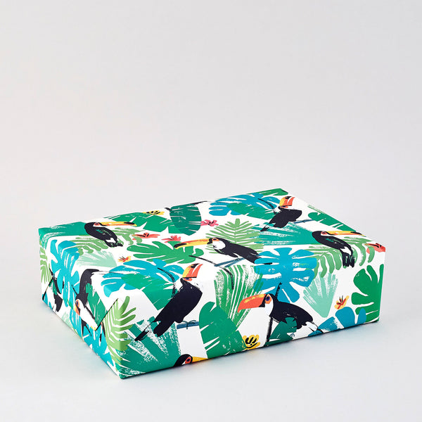 Toucans Wrapping Paper x 3 Sheets