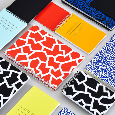 Graphic Pattern Notebook Collection