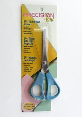 "Pair of Precision 6-1/2"" All Purpose Scissors"