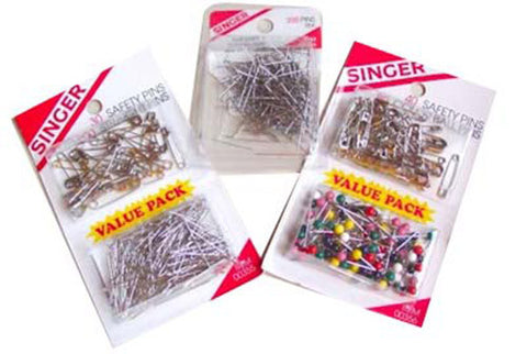 Singer Pin Assortment (Case of 48)*